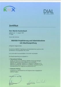 KNX Zertifikat